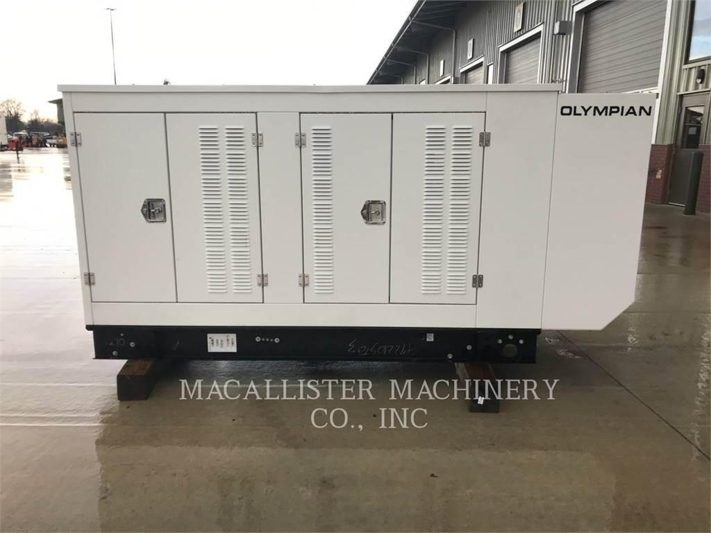 Olympian G100, Seturi de Generatoare Diesel, Constructii
