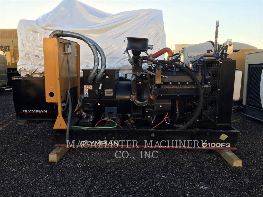 Olympian G100F3, Stationary Generator Sets, Construction
