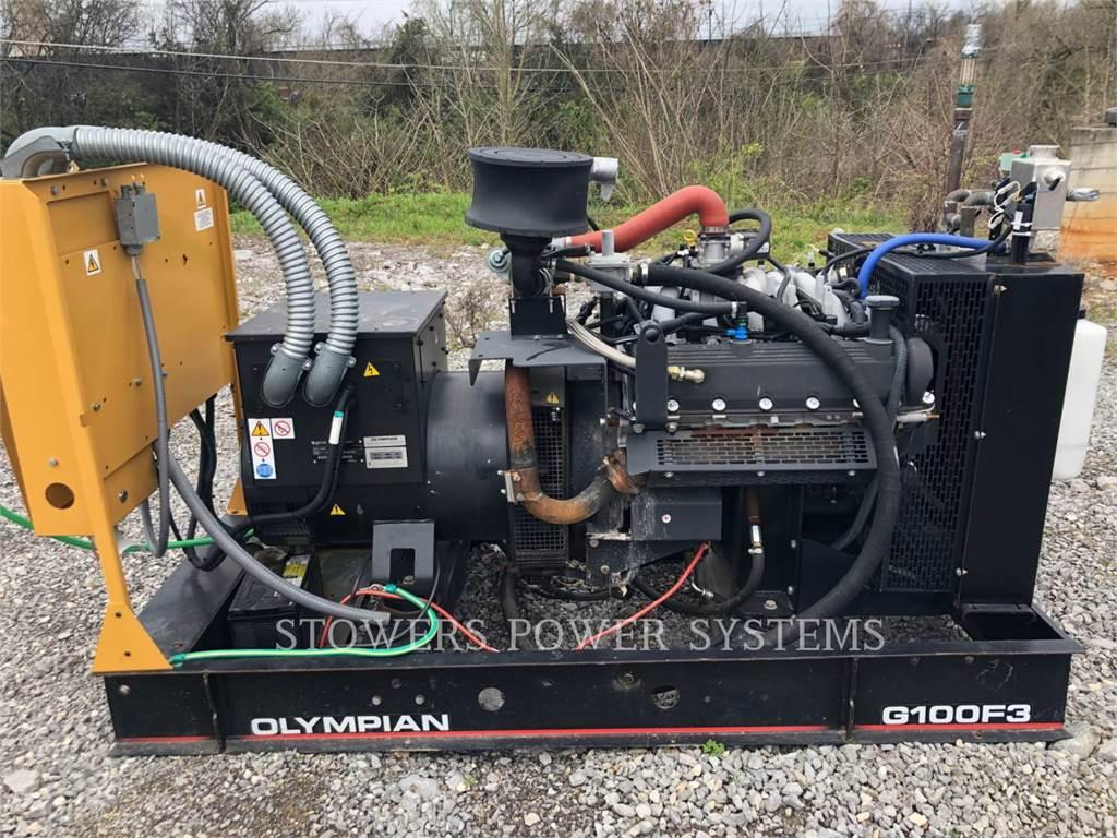 Olympian G100F3, стационарные генераторные установки, Строительное