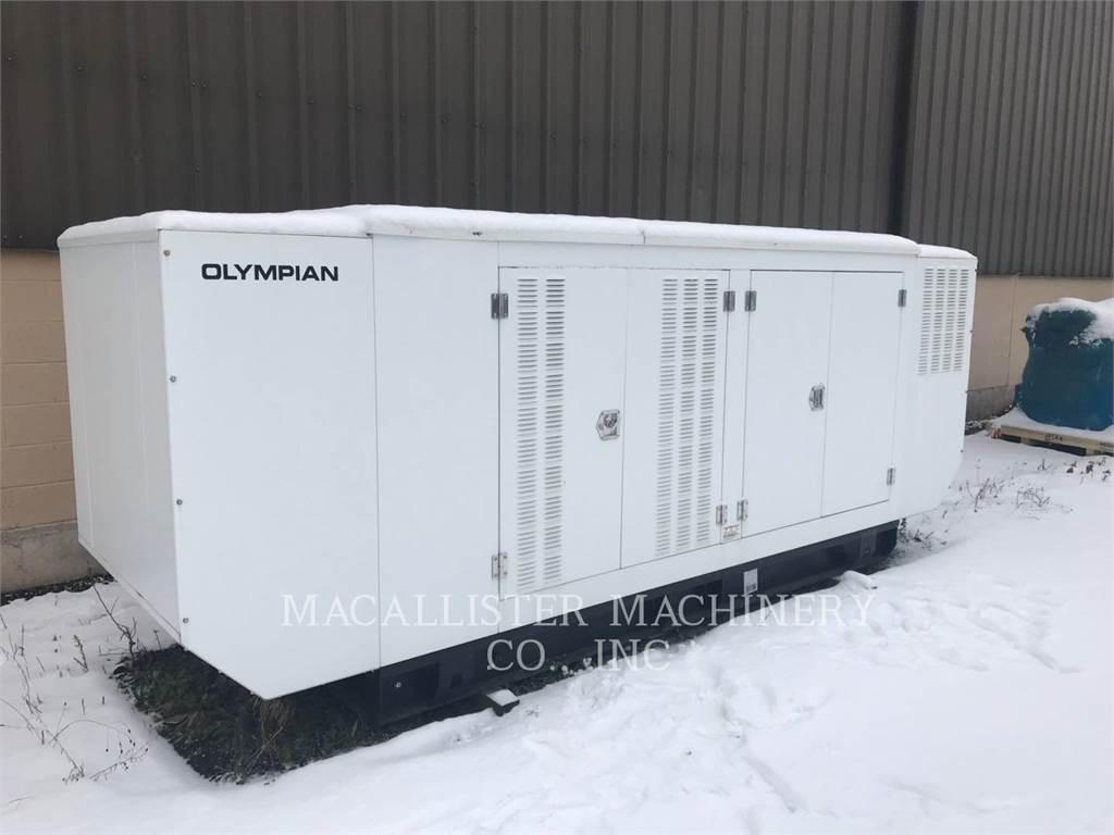 Olympian G150, Seturi de Generatoare Diesel, Constructii