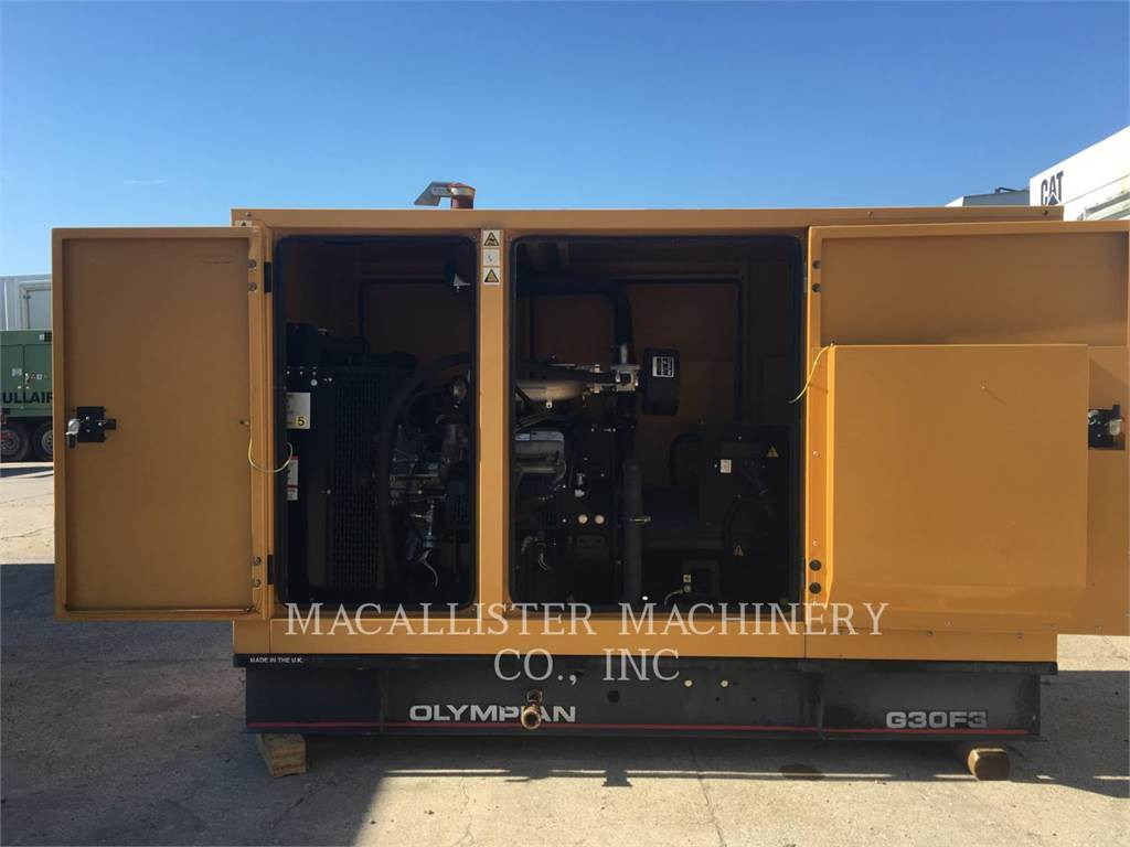 Olympian G30F3, Stationary Generator Sets, Construction