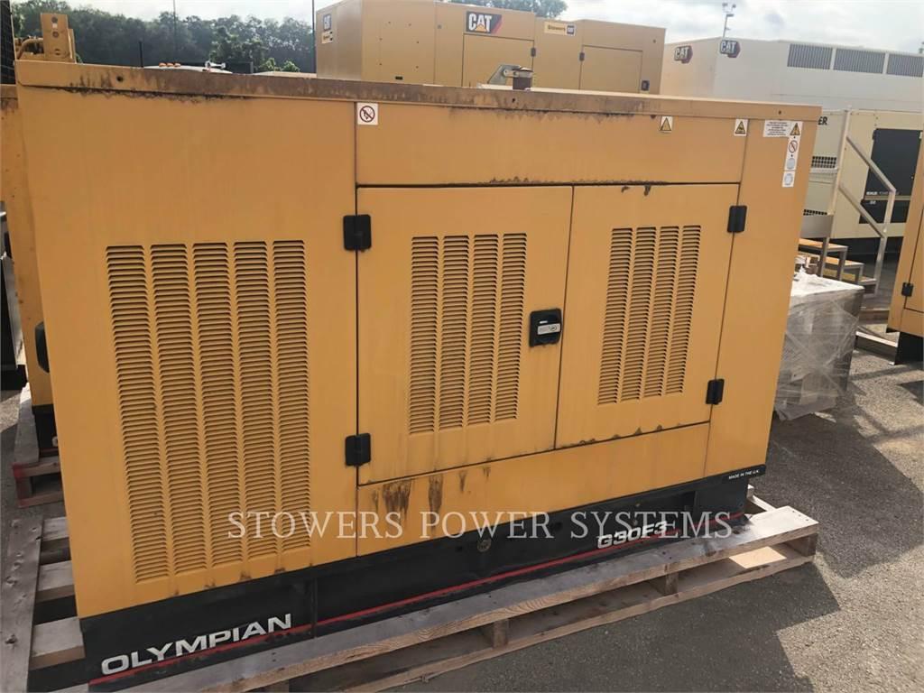 Olympian G30F3, Stationaire Generatorsets, Bouw