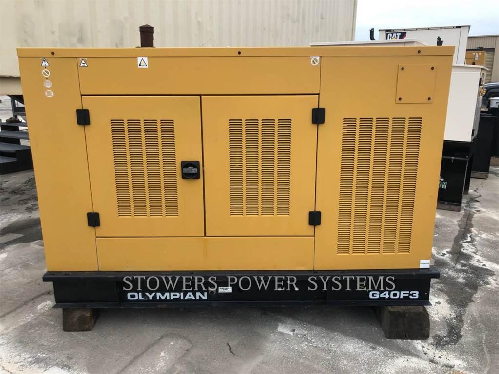 Olympian G40F3, Stationary Generator Sets, Construction