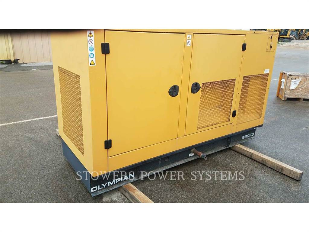 Olympian G60F3, Stationaire Generatorsets, Bouw