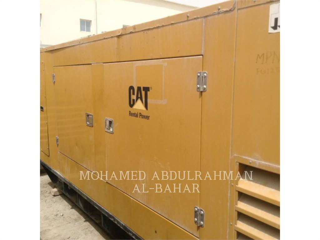 Olympian GEH220, mobile generator sets, Construction