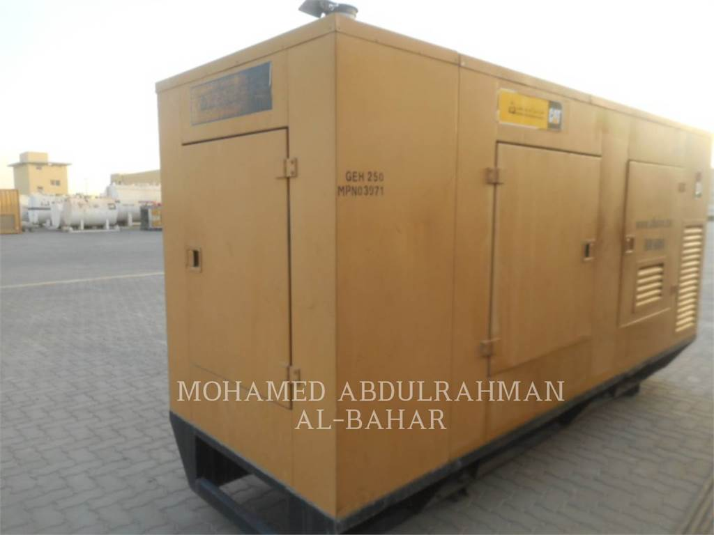 Olympian GEH250, mobile generator sets, Construction