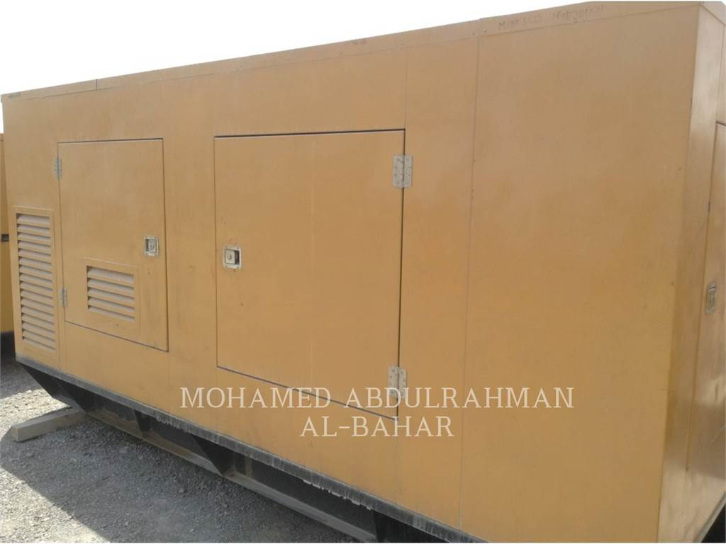 Olympian GEH275, mobile generator sets, Construction