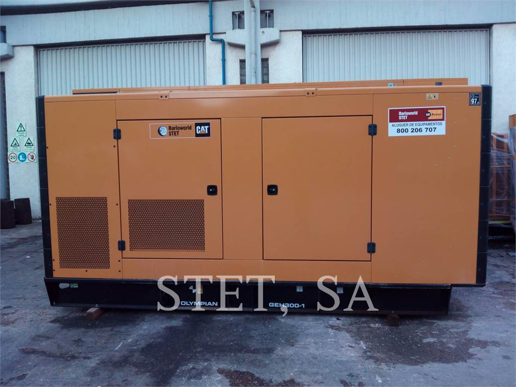 Olympian GEH300, mobile generator sets, Construction