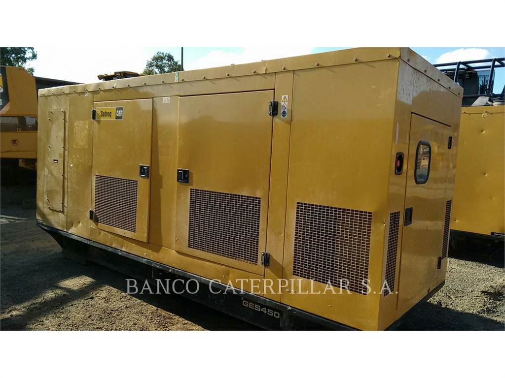 Olympian GES4505, Stationary Generator Sets, Construction