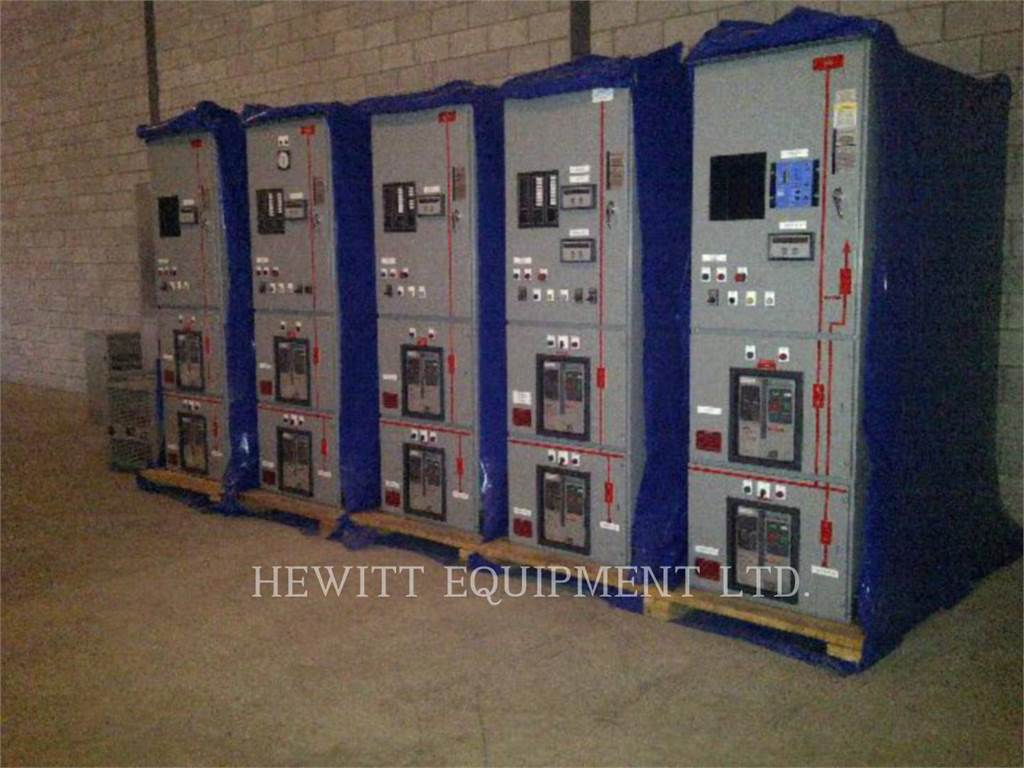 [Other] CUTTLER HAMMER SWITCHGEAR 5000A, Systems / Components, Construction