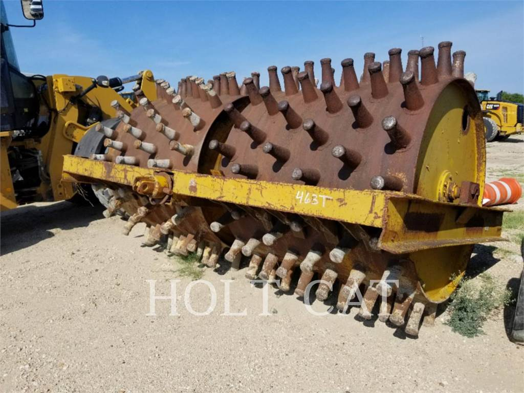 [Other] HD114, compactadores remolcados, Construcción