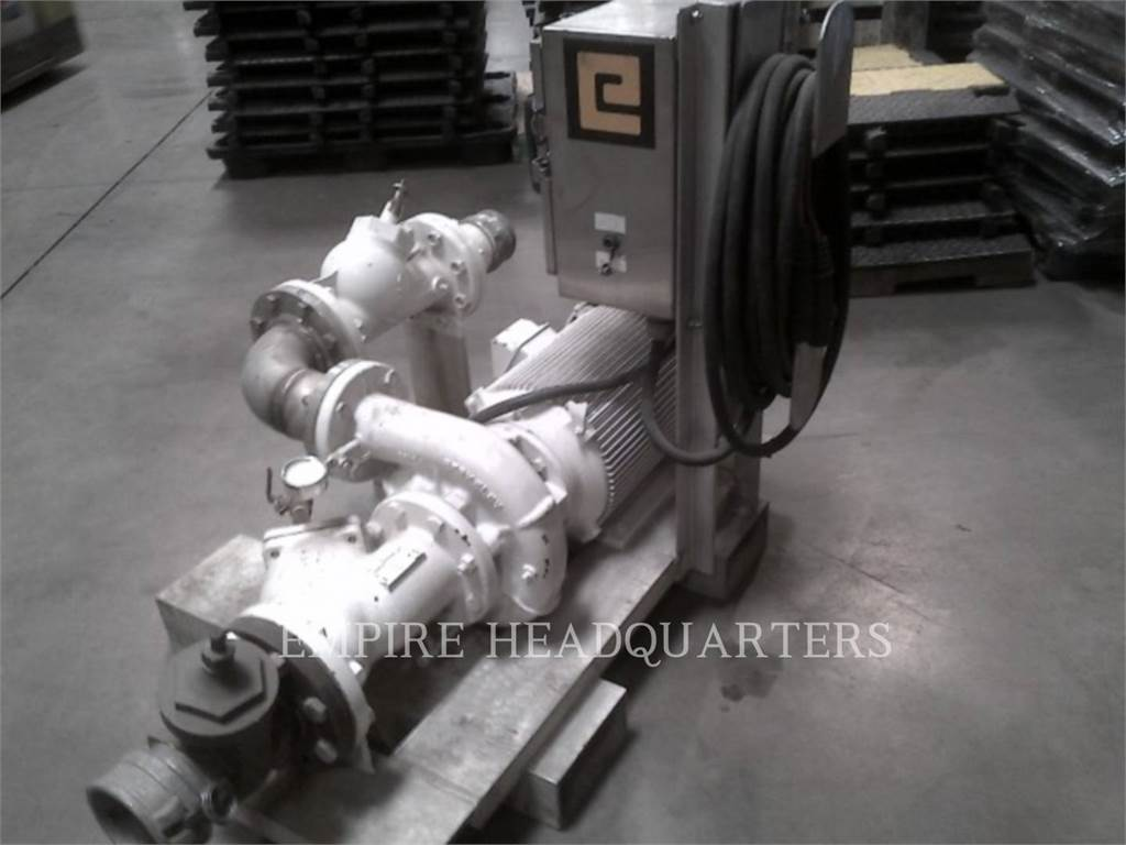 [Other] MISC - ENG DIVISION PUMP 25HP, Temperature Control, Construction