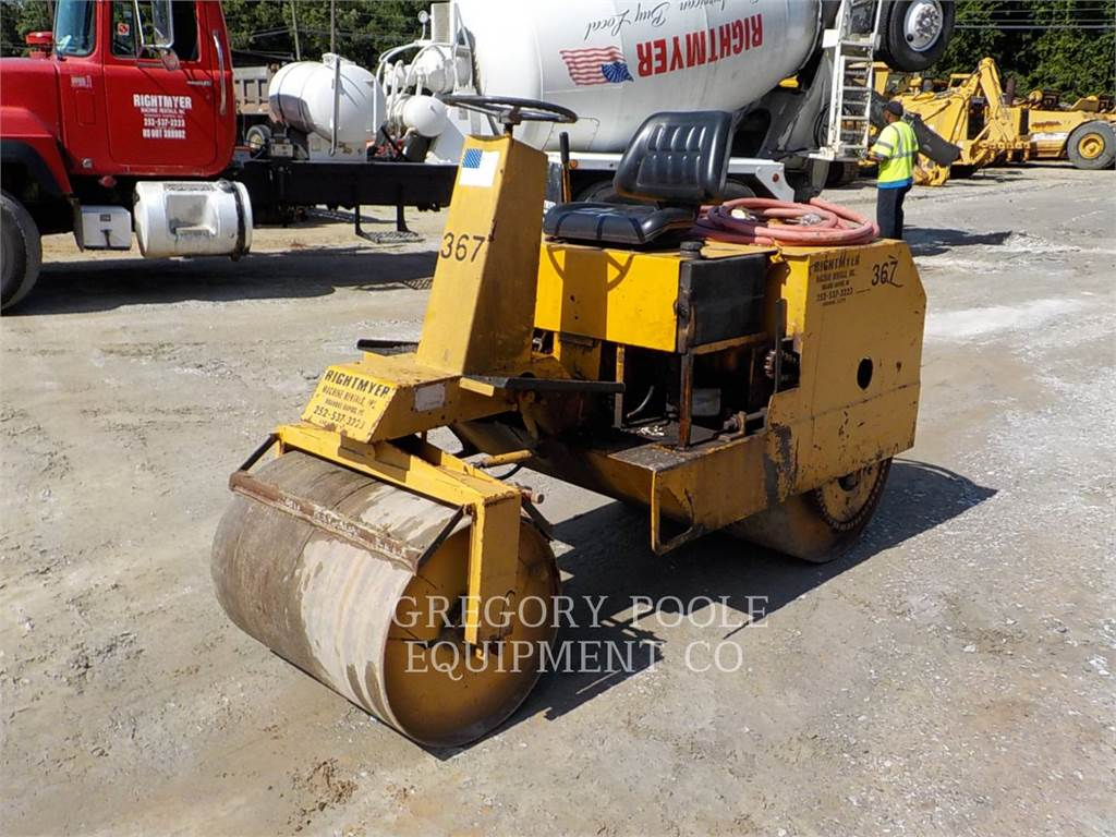 [Other] ROL-MOL 203, Single drum rollers, Construction