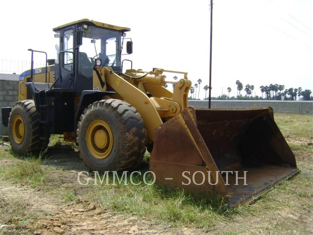 [Other] SHANDONG ENGINEERING MACHINERY CO. LTD 658C, Chargeuse sur pneus, Équipement De Construction