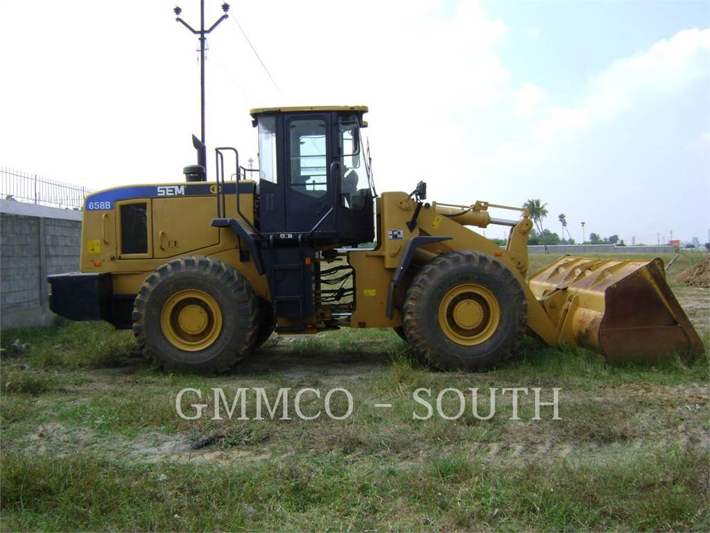 [Other] SHANDONG ENGINEERING MACHINERY CO. LTD 656D, Wheel Loaders, Construction