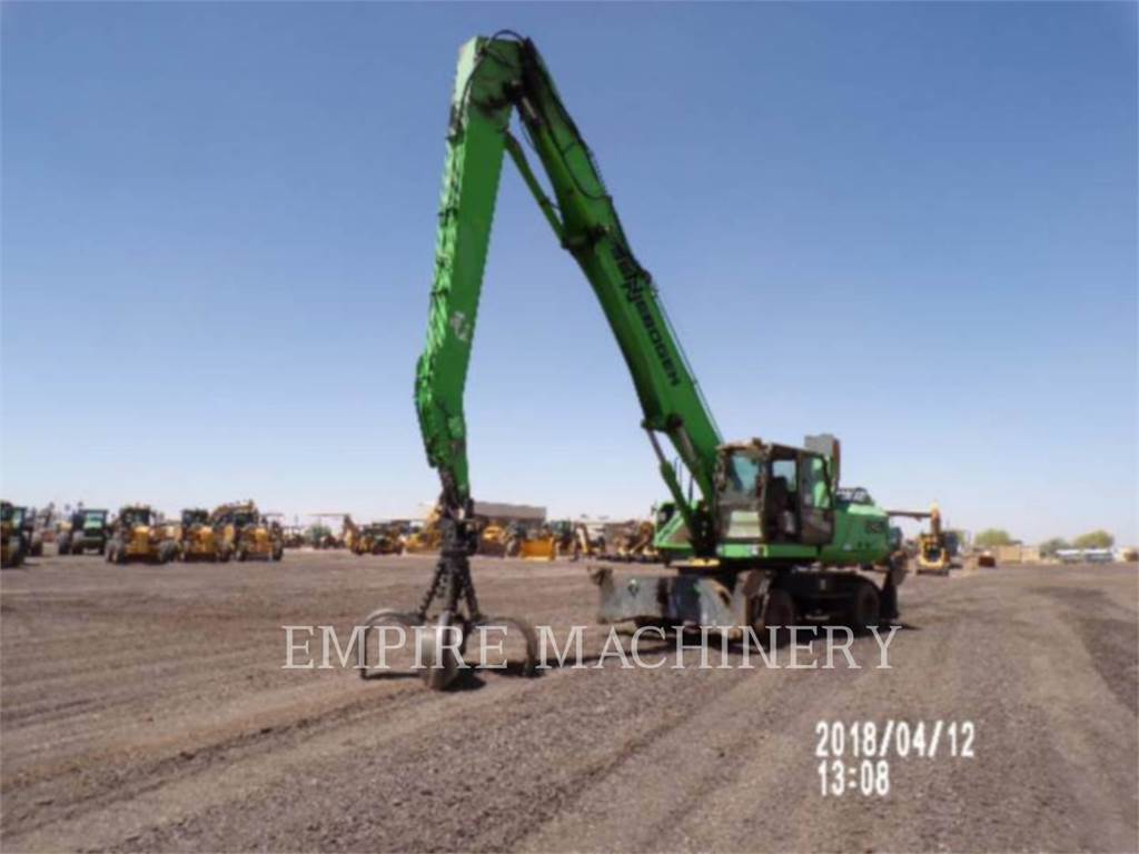 [Other] US MFGRS 835M, Rupsgraafmachines, Bouw
