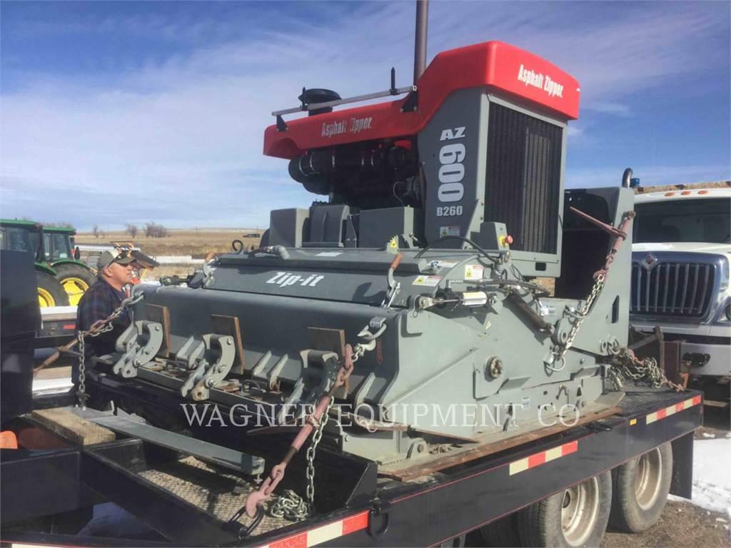 [Other] US MFGRS AZ600, Asphalt cold milling machines, Construction