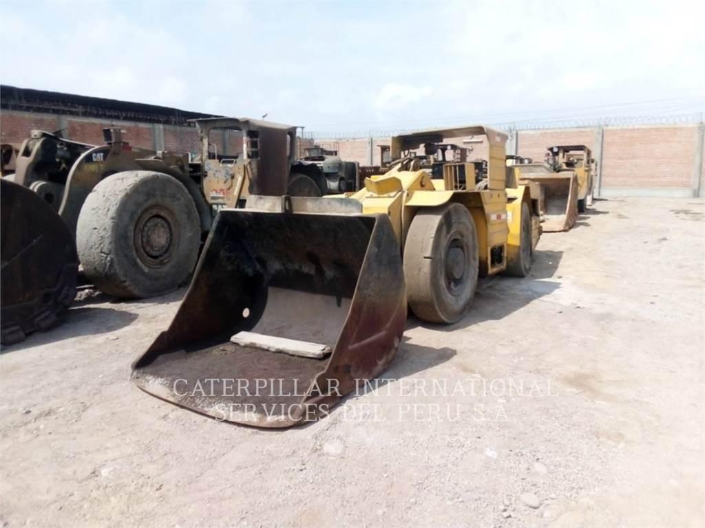 Paus PFL18, underground mining loader, Construction