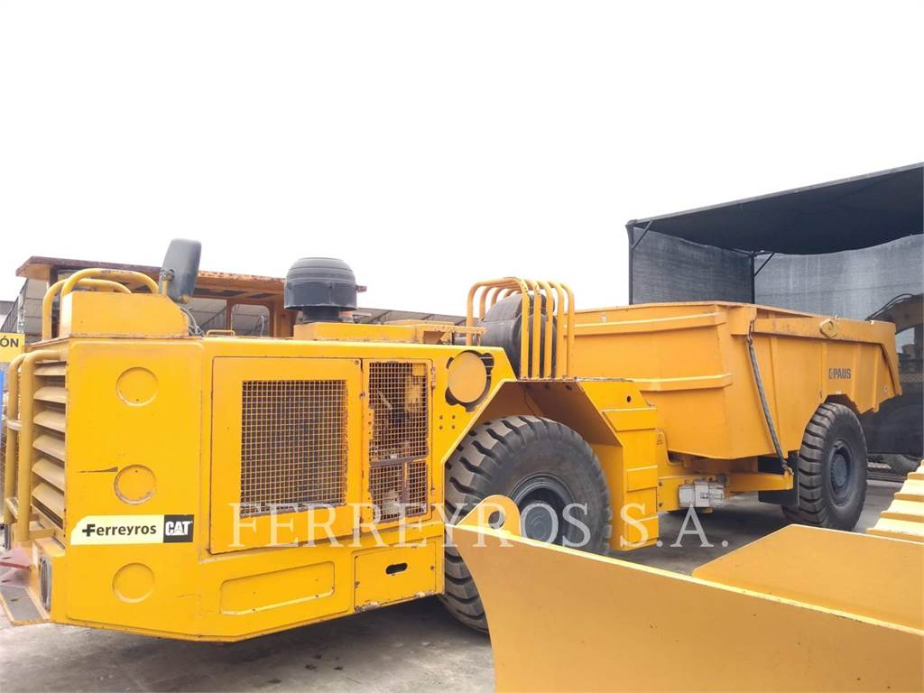 Paus PMKM10010, Articulated Dump Trucks (ADTs), Construction