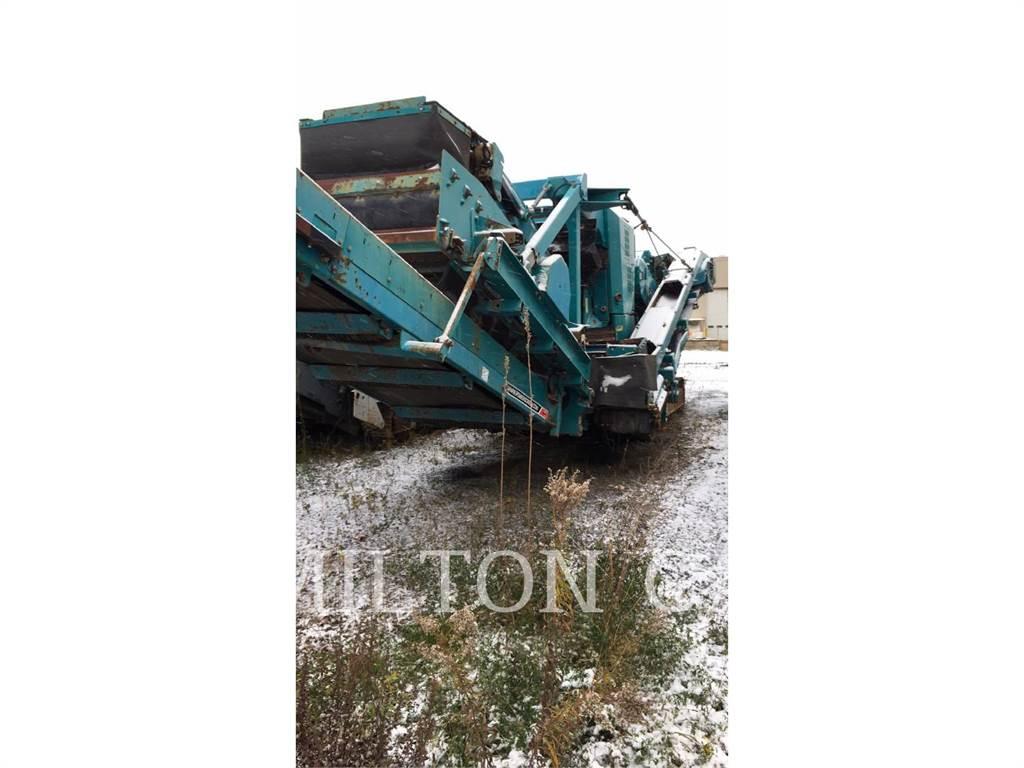 Pegson CRUSHER XH320SR, crushers, Construction