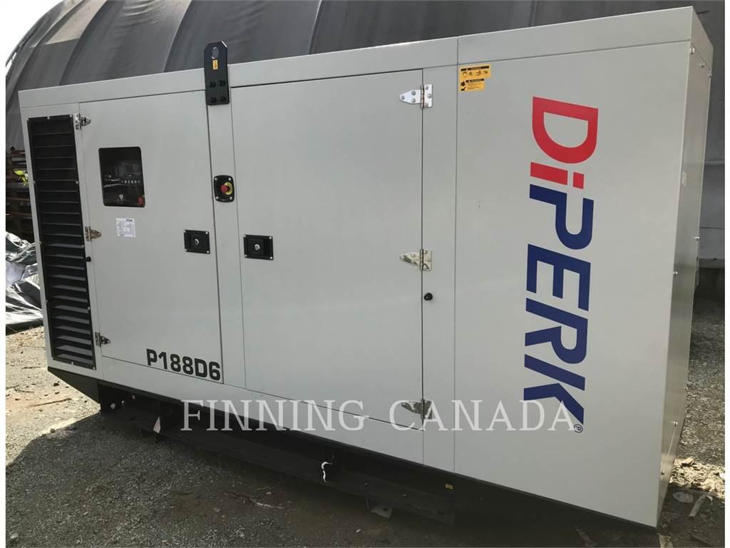 Perkins DP188D6, Stationary Generator Sets, Construction