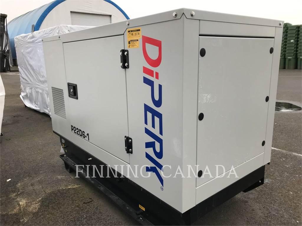 Perkins DP21D6-1, Stationary Generator Sets, Construction