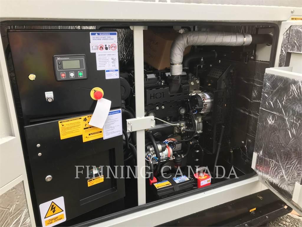 Perkins DP60D6-1, Stationary Generator Sets, Construction