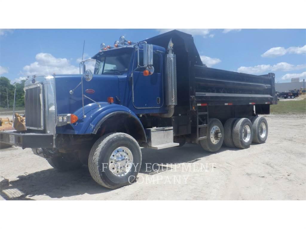 Peterbilt 357, dump trucks, Transport