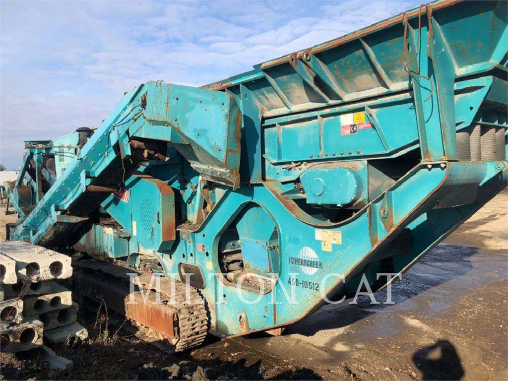 Powerscreen XH320SR, crushers, Construction