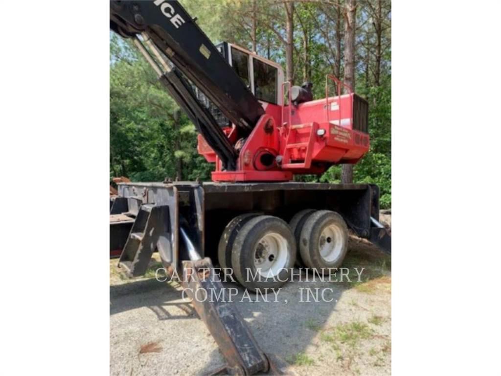 Prentice 2384, Knuckleboom loaders, Forestry Equipment