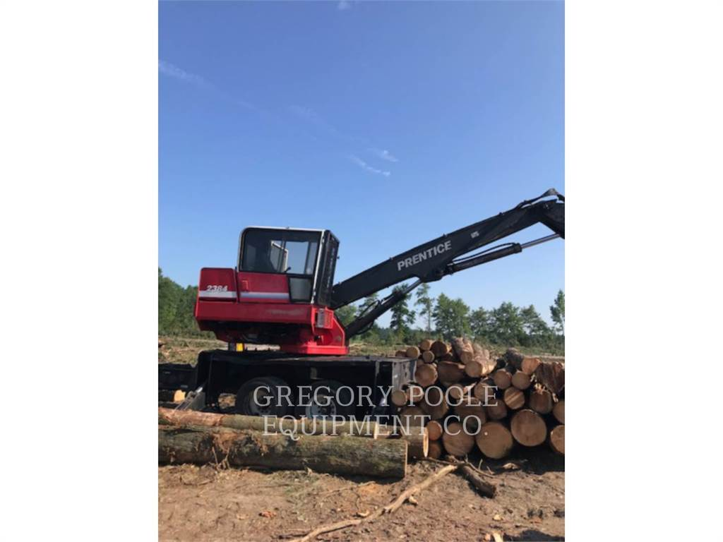 Prentice 2384, Knuckleboom loaders, Forestry Equipment