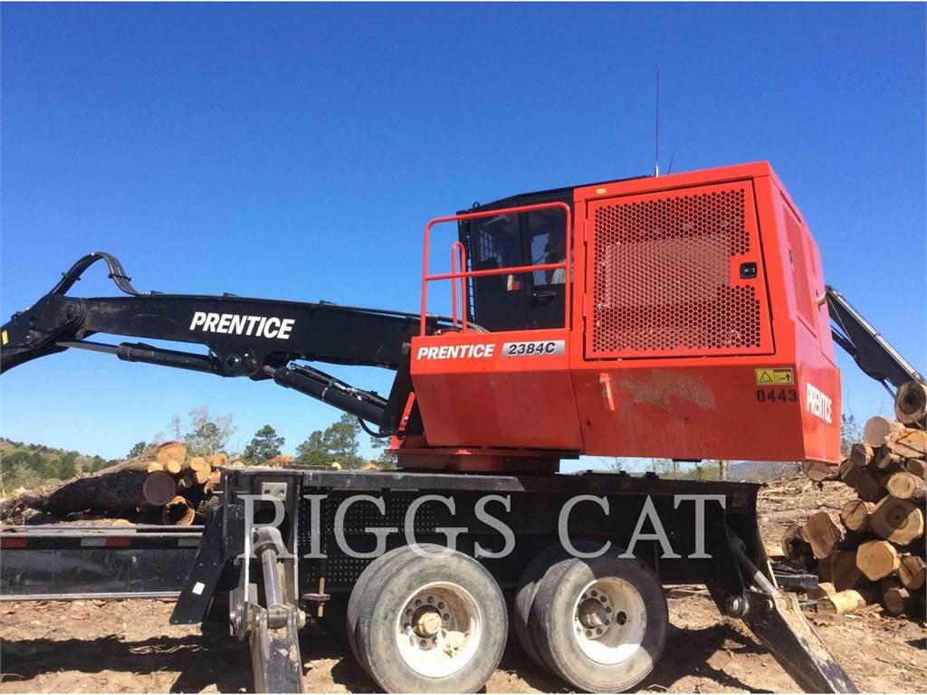 Prentice 2384C, Knuckleboom loaders, Forestry Equipment