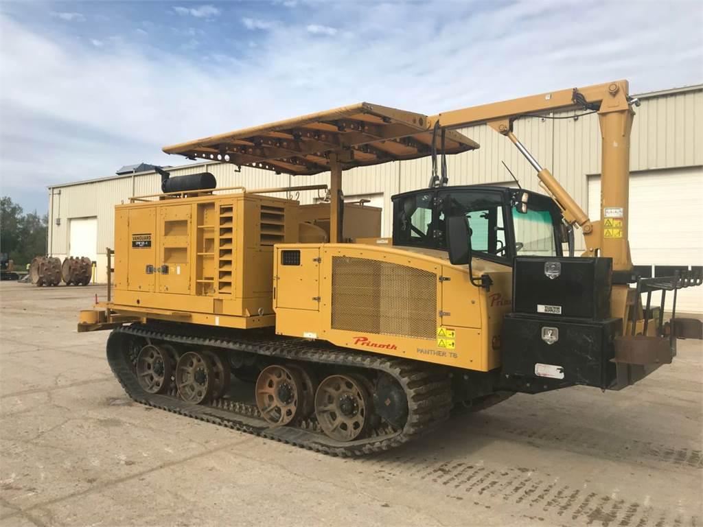 Prinoth PANTHERT8, mobile generator sets, Construction