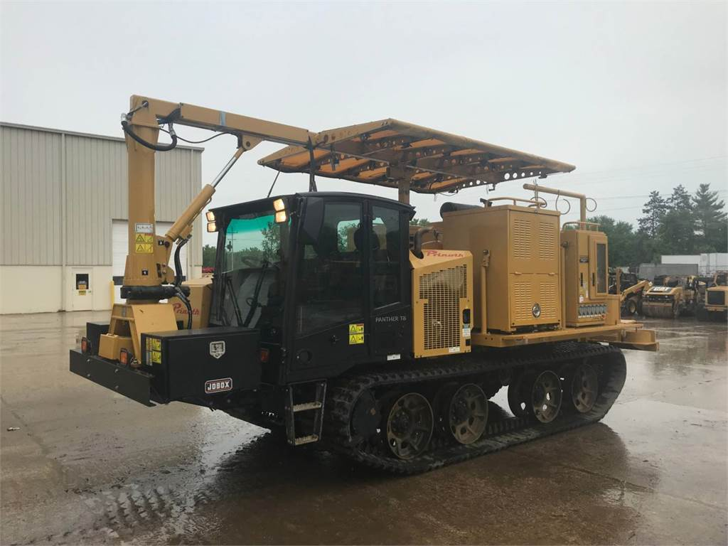 Prinoth PANTHERT8, mobile generator sets, Construction