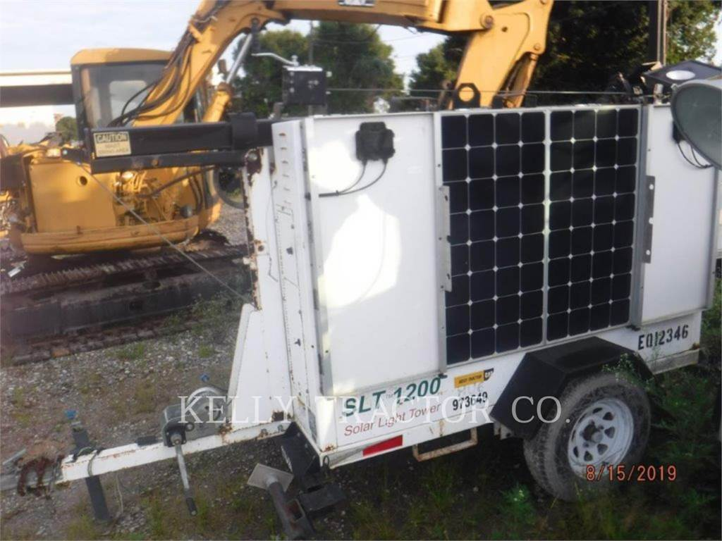 Progress SOLAR SOLUTIONS SLT1200-PSS、拖车式灯塔、建筑设备