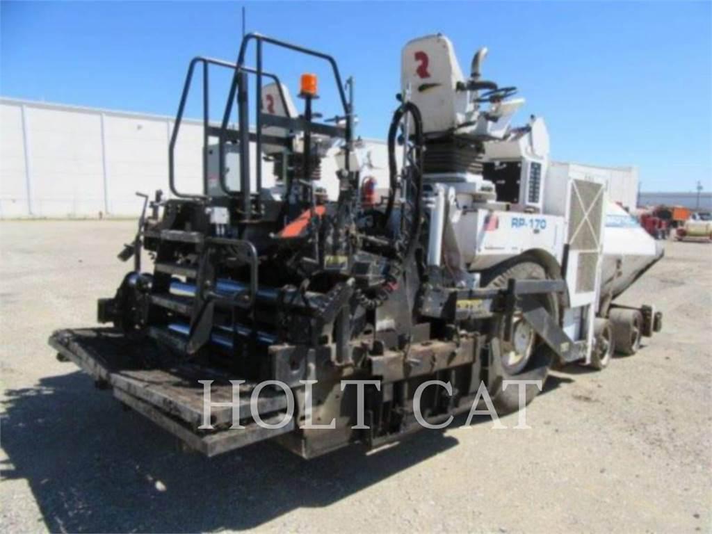 Roadtec RB170, Strassenfertiger, Bau-Und Bergbauausrüstung