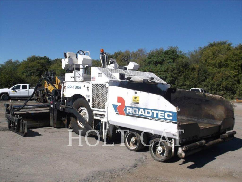 Roadtec RP190E, Asphalt pavers, Construction