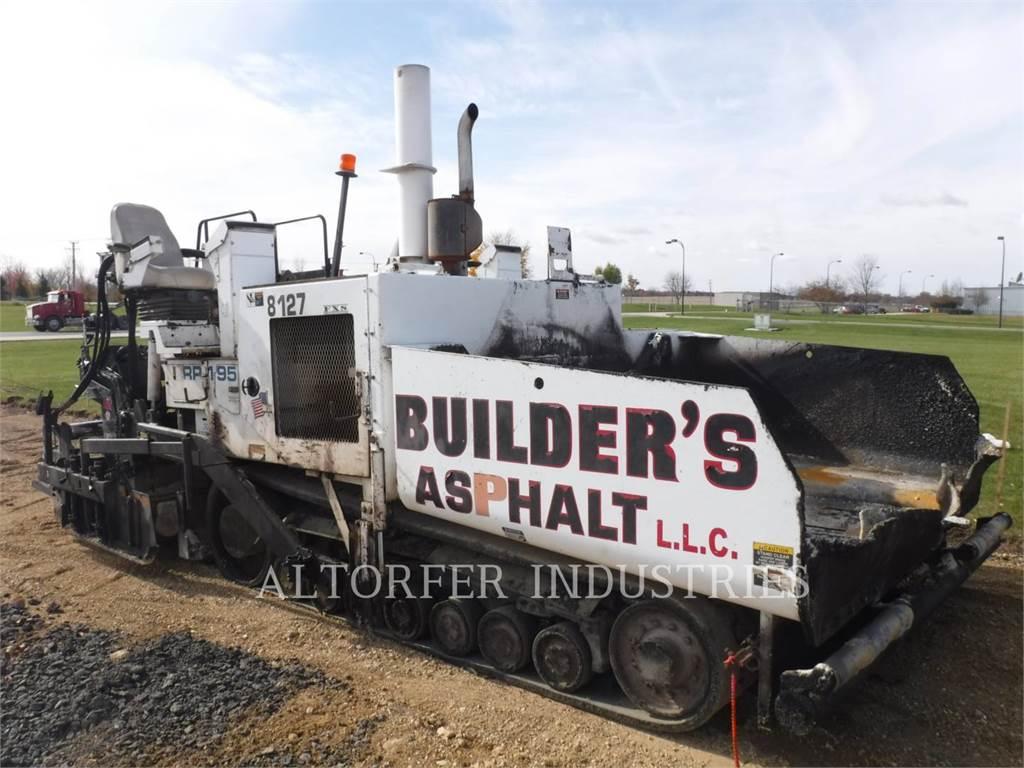 Roadtec RP195, Strassenfertiger, Bau-Und Bergbauausrüstung