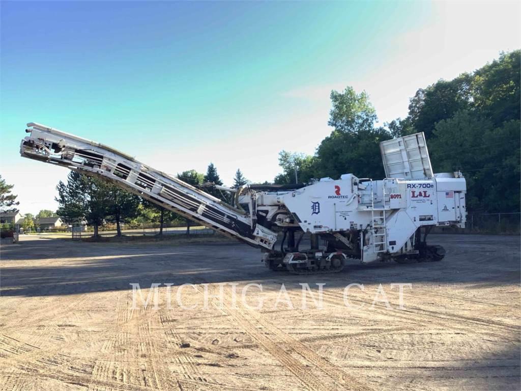 Roadtec RX700E, Asphalt cold milling machines, Construction