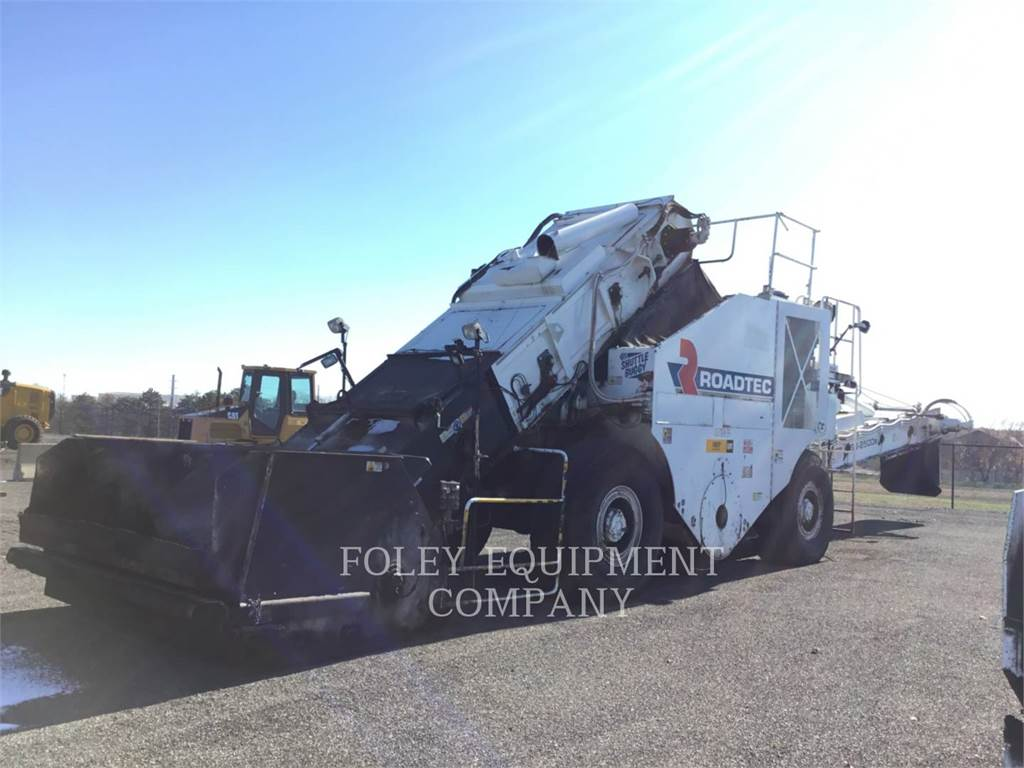 Roadtec SB2500E, Asphalt pavers, Construction