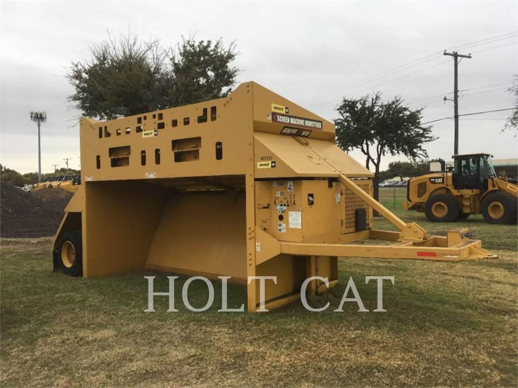 Screen Machine 107D, Sieb- und Brechanlagen, Bau-Und Bergbauausrüstung