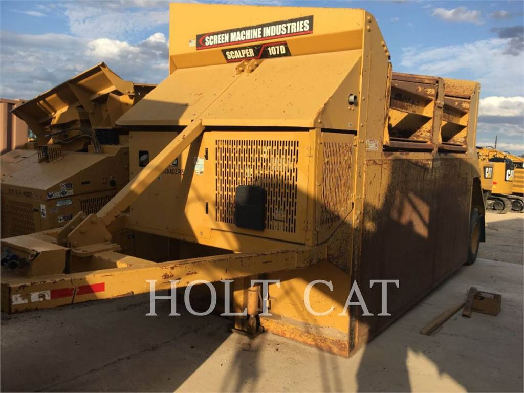 Screen Machine 107D, Screeners, Construction