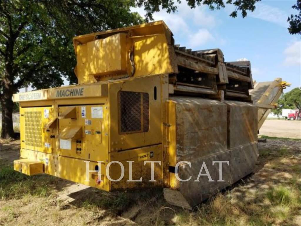 Screen Machine 107T, Screeners, Construction