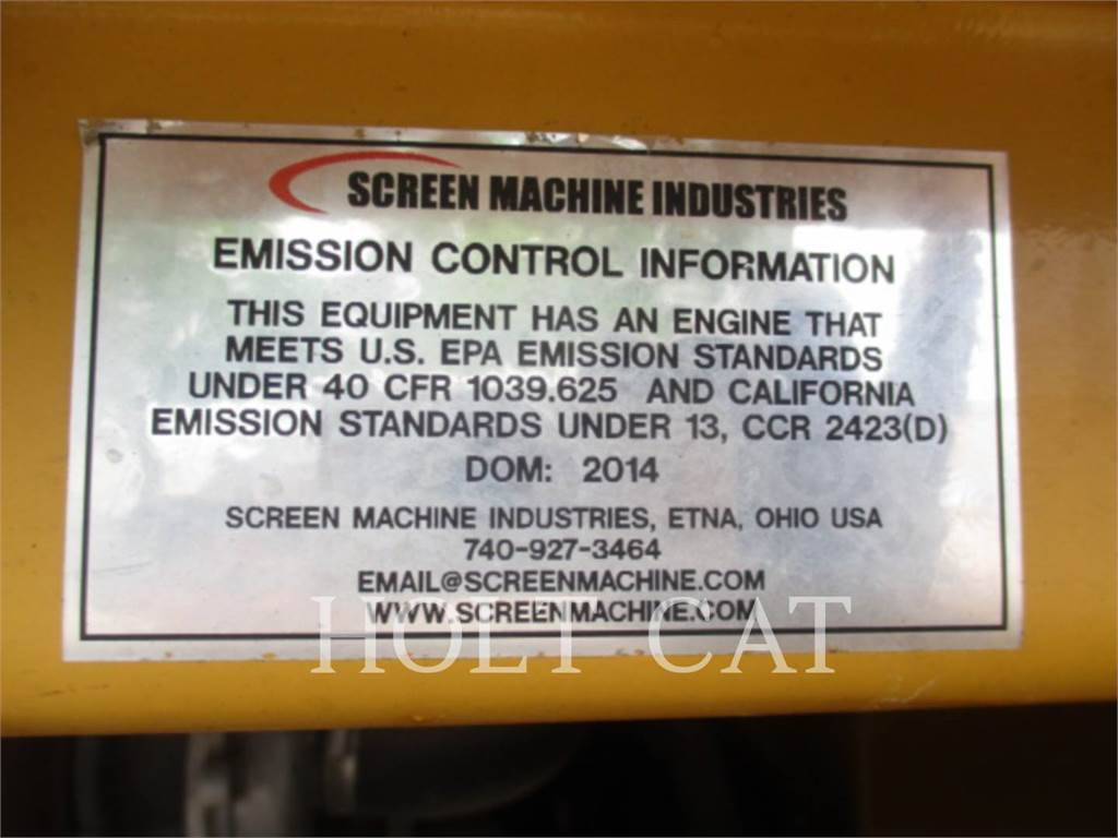 Screen Machine 107T, Screeners, Construction