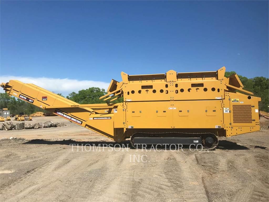 Screen Machine 107T, Crible, Équipement De Construction