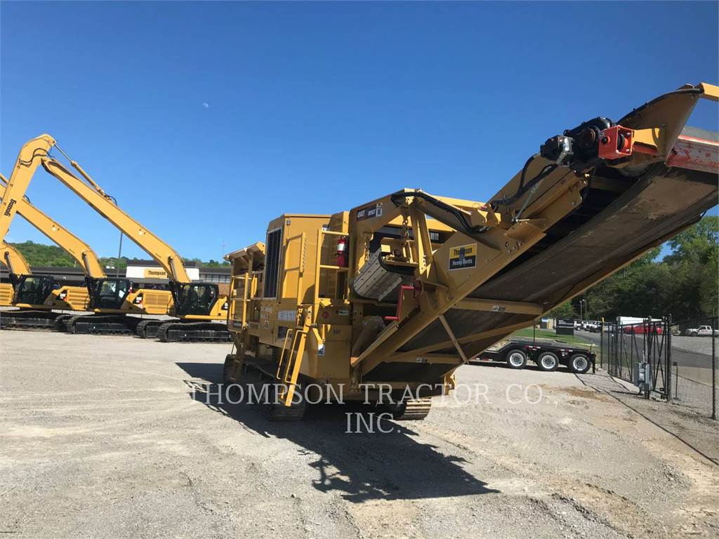 Screen Machine 4043T, crushers, Construction