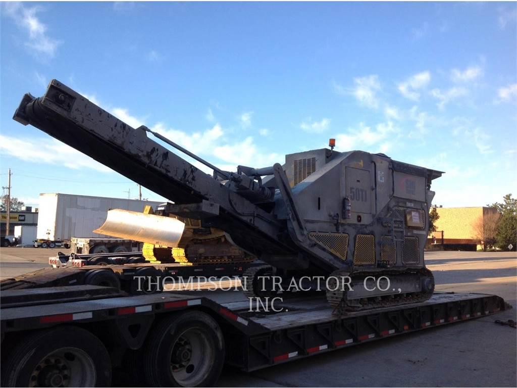 Screen Machine 50TJ, crushers, Construction