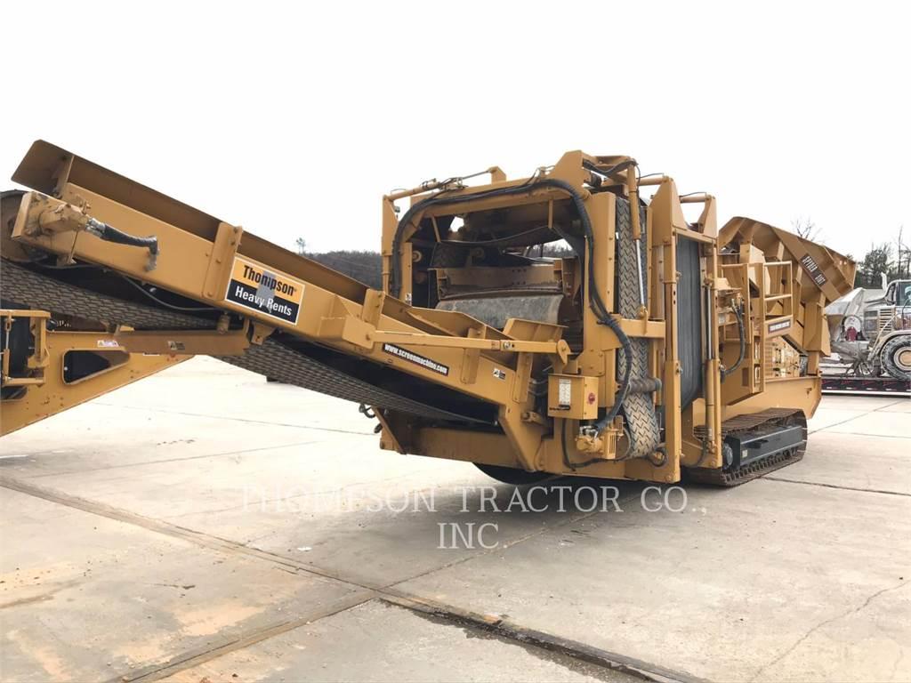 Screen Machine 516T, Zeefinstallatie, Bouw