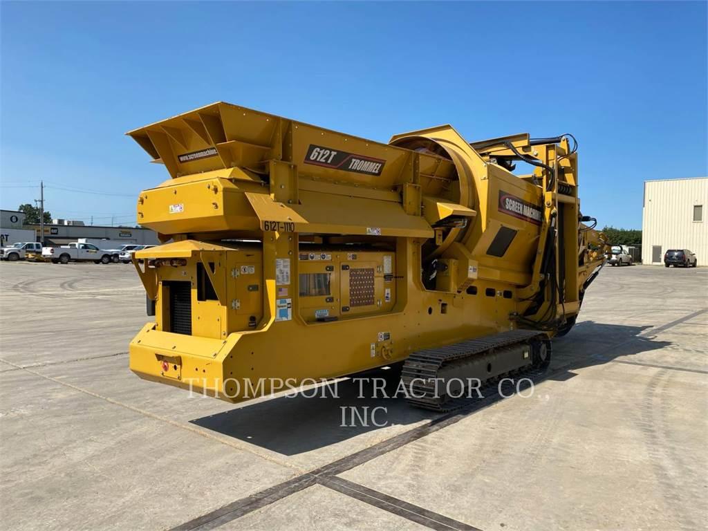 Screen Machine 612T, Trommels, Construction