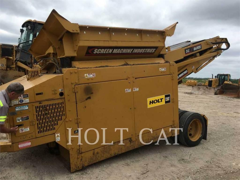 Screen Machine 77C, Sieb- und Brechanlagen, Bau-Und Bergbauausrüstung